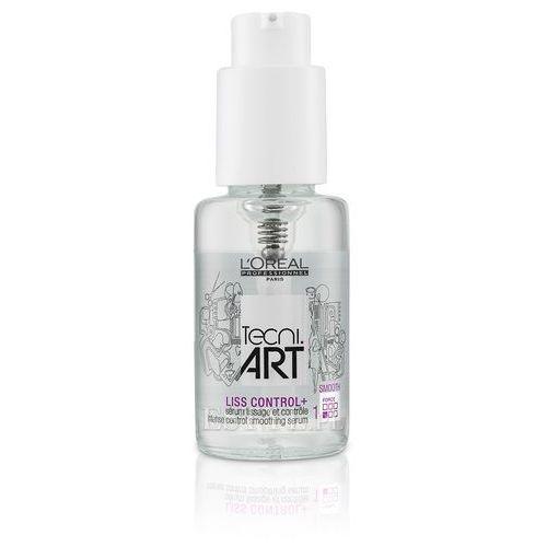 L´Oreal Paris Tecni Art Liss Control+ Serum 50ml W Serum do włosów wygładzające