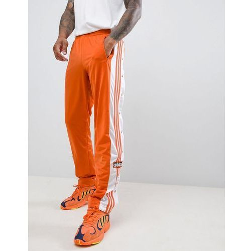 Adidas originals adibreak popper joggers in orange dh5750 - orange