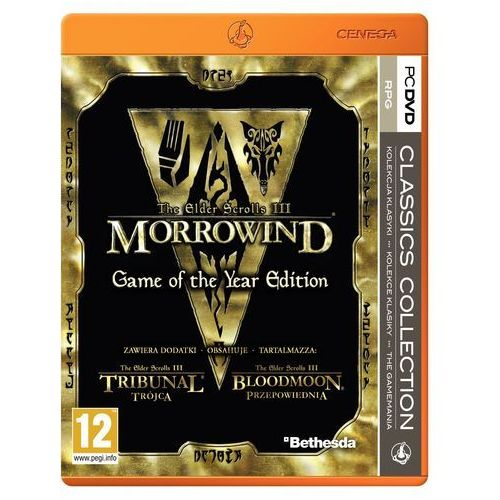 OKAZJA - The Elder Scrolls 3 Morrowind (PC)
