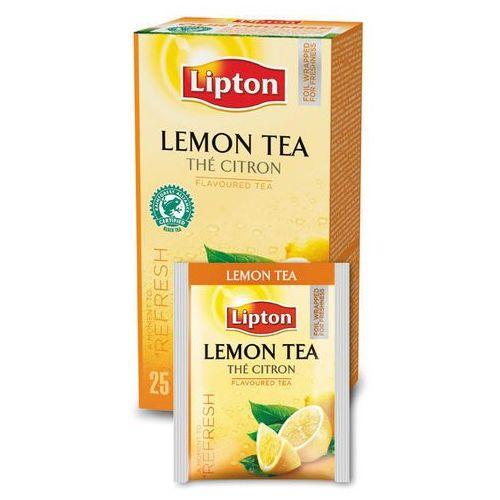 Czarna aromatyzowana herbata Lipton Classic Lemon 25 kopert z kategorii Czarna herbata
