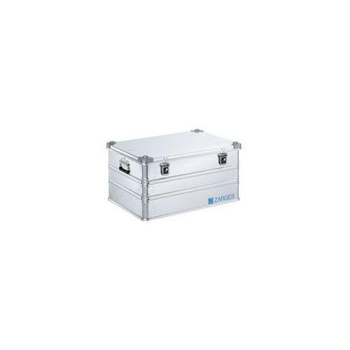 Zarges Aluminiowa skrzynka transportowa,poj. 157 l, dł. x szer. x wys. wewn. 750 x 550 x 380 mm