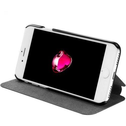 Azuri  ultra thin booklet do iphone 7 czarny