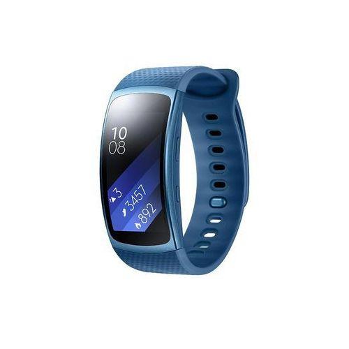 Samsung SM-r3600zb nxef Gear Fit 2 Fitness bransoletka z GPS (rozmiar: S) Niebieski (8806088434360)