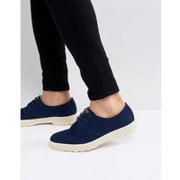 delray overdyed 3-eye shoes in navy - navy marki Dr martens