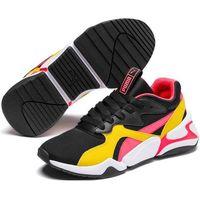 Puma buty dziecięce Nova Funky Jr Black-Sulphur 38,5 (4060981797616)