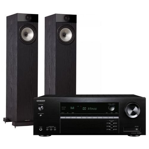 Kino domowe ONKYO TX-SR494B + FYNE AUDIO F302 Czarny (2903974099750)