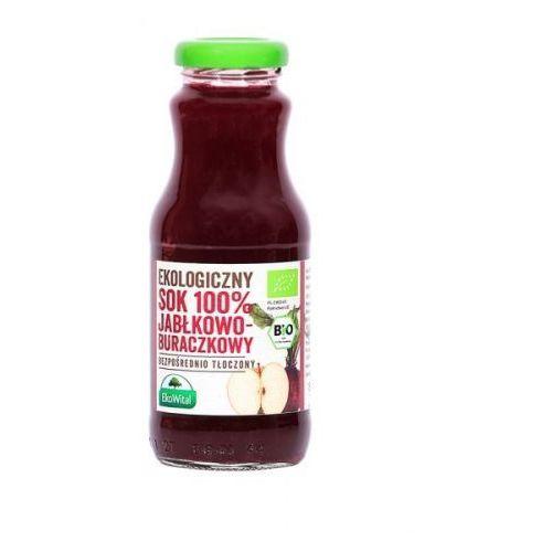 Sok jabłkowo-buraczkowy 100 % BIO 250 ml, 6022