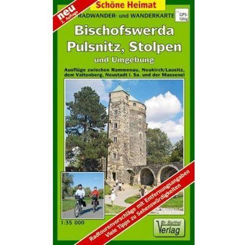 Doktor Barthel Karte Bischofswerda, Pulsnitz, Stolpen und Umgebung