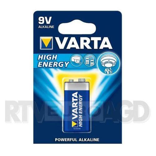 Bateria alkaliczna  high energy 6lr61 9v wyprodukowany przez Varta