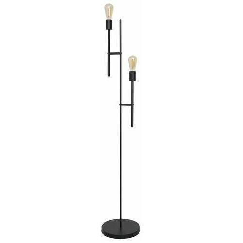 Luminex cartago 3131 lampa stojąca podłogowa 2x60w e27 czarna