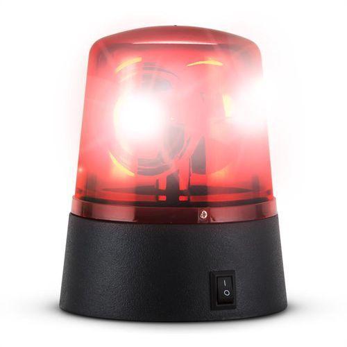 Ibiza JDL008R-LED światło plicyjne czerwone LED