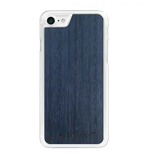Etui SmartWoods – Blue Sky Clear Iphone 7, kolor niebieski