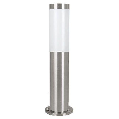 Lampa stojąca helsinki 81751 ogrodowa słupek 1x15w e27 ip44 satyna marki Eglo