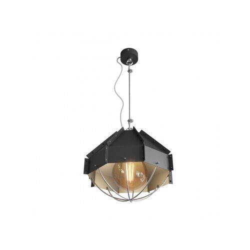 Lampa wisząca rafi 300 czarna marki Cleoni