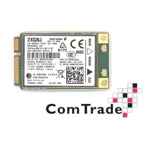Modem wwan 5550 f5521gw, do dell e6420, e6520, e6320 itp. marki Dell