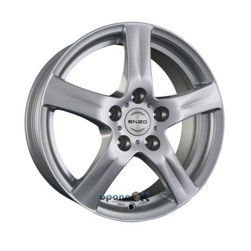 ENZO G Silver Einteilig 6.50 x 16 ET 48