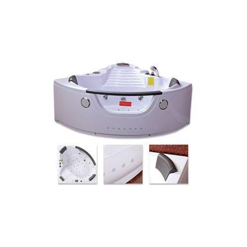 Hydrosan Wanna system hydromasaży 140x140 havana 603 + podgrzewacz wody