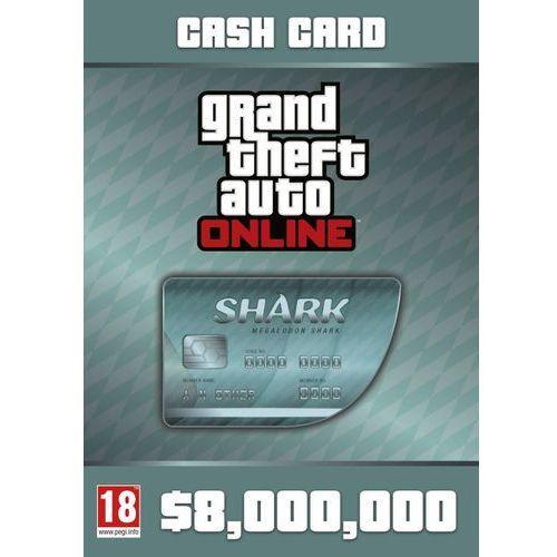 Kod aktywacyjny Gra PC Grand Theft Auto Online: Megalodon Shark Card