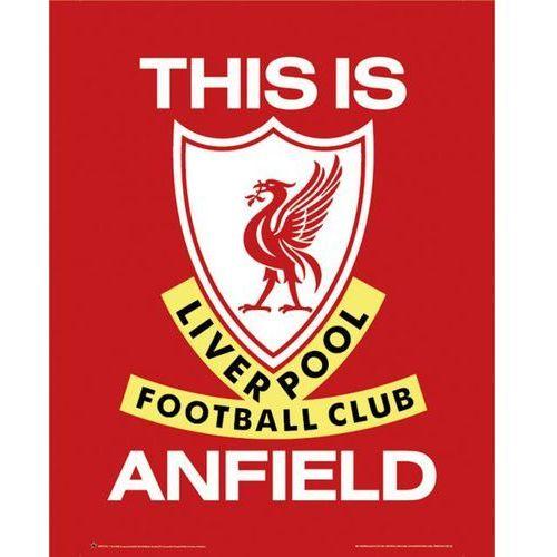 Gb Fc liverpool this is anfield - godło klubu - plakat