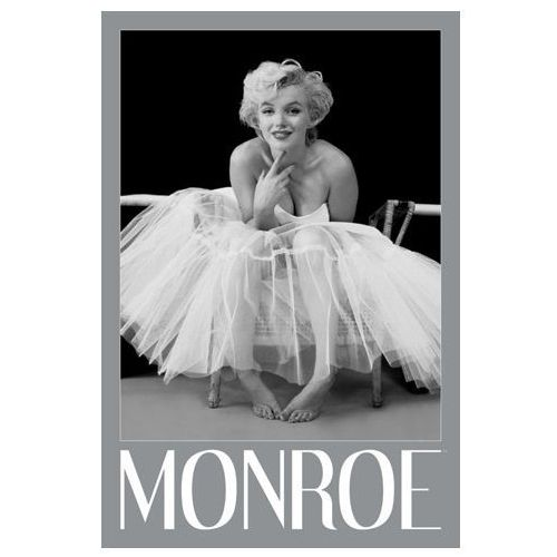 Marilyn monroe ballerina - plakat wyprodukowany przez Gf
