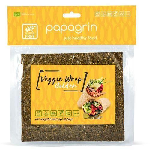 Tortilla Wraps Warzywna Złota Bezglutenowa BIO 100 g Papagrin