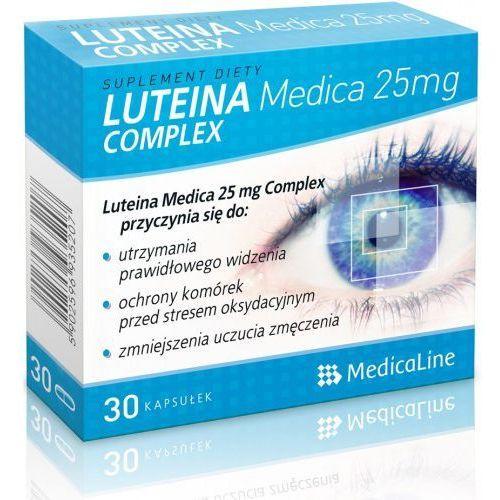 ALINESS LUTEINA MEDICA 25 mg COMPLEX (artykuł z kategorii Leki na wzmocnienie wzroku i słuchu)