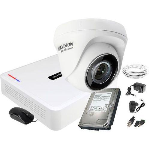 Hikvision hiwatch zestaw do monitoringu 1 kamerowy hiwatch hd