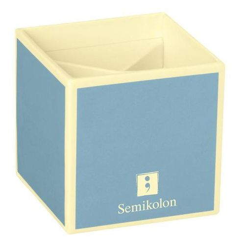 Semikolon Pojemnik na długopisy die kante błękitny