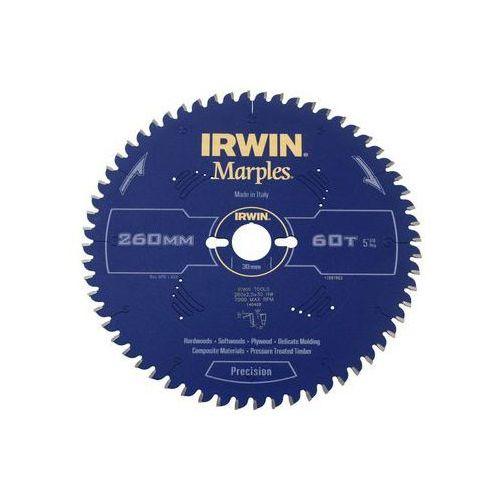 Irwin marples Tarcza do pilarki tarczowej 260mm/60t m/30 śr. 260 mm 60 z