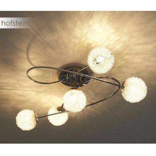 lampa sufitowa chrom, 5-punktowe - dworek - obszar wewnętrzny - wire - czas dostawy: od 3-6 dni roboczych marki Reality