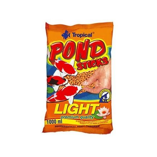 Tropical pond sticks light - pokarm w pałeczkach dla ryb stawowych 10l/900g - 10l/900g