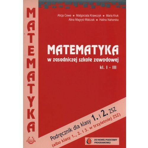 Matematyka ZSZ kl 1-3 podr NPP w.2015 Cewe PODKOWA, PODKOWA