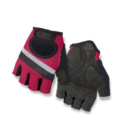 Giro siv rękawiczka rowerowa mężczyźni czerwony/czarny xs 2018 rękawiczki szosowe