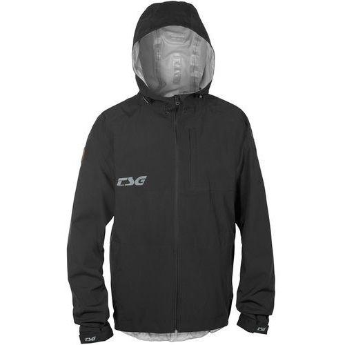 Tsg drop kurtka przeciwdeszczowa mężczyźni, black xl 2019 kurtki mtb