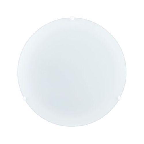 Plafon econom śr. 25 cm biały marki Prezent