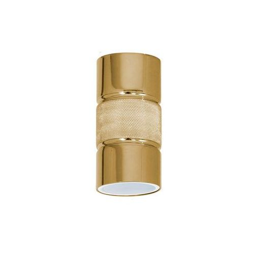 Luminex Spot salva 8632 plafon lampa sufitowa 1x8w gu10 złoty (5907565986327)
