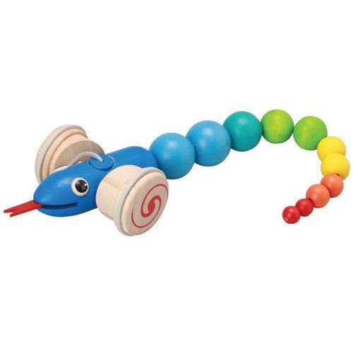 Plan Toys zabawka do ciągnięcia - wąż