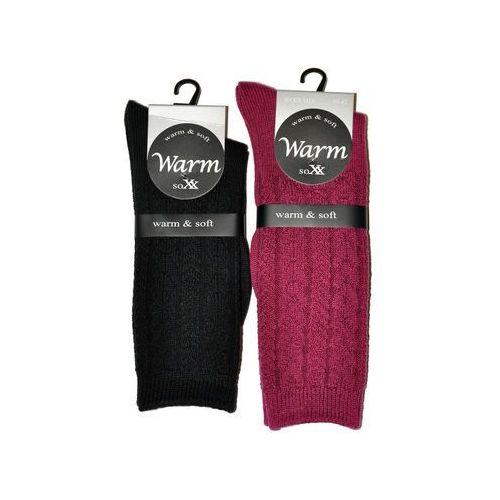 Skarpety warm&soft art.38920 damskie 35-38, czarny/nero. wik, 35-38, 39-42 marki Wik