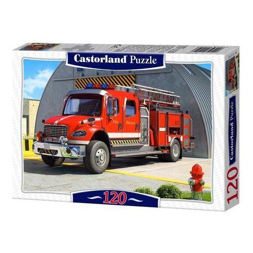 Puzzle Castorland. 120 elementów (B-12831) - Fire Engine + zakładka do książki GRATIS