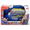 Dickie toys Policja z zestawem akcesoriów, 33 cm