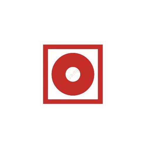 OKAZJA - Techem Znak przycisk alarmowy pb, kategoria: znaki informacyjne i ostrzegawcze
