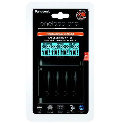 Ładowarka Panasonic Eneloop BQ-CC65