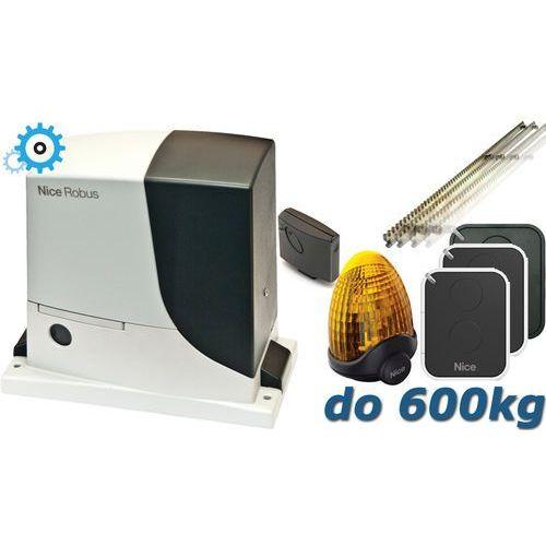 Nice robus 600 xxl do 600kg zestaw automatyki - 6mb listwy zębatej