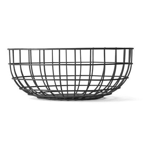 Menu Misa druciana wire bowl black