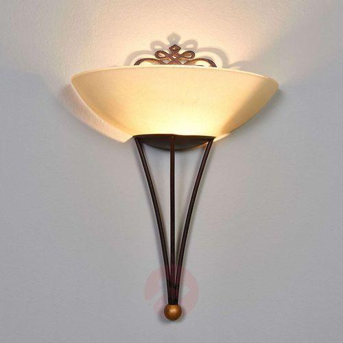Eglo Lampa oprawa ścienna kinkiet mestre 1x60w e27 antyczny brąz/złoty 86715 (9002759867157)