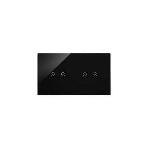 Panel dotykowy simon 54 touch dstr222/73 2 moduły 2 pola dotykowe poziome, 2 pola dotykowe poziome, zastygła lawa marki Kontakt-simon