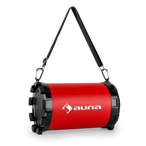 auna Dr. Red Boom głośnik Bluetooth 2.1 USB SD AUX 20W baterie
