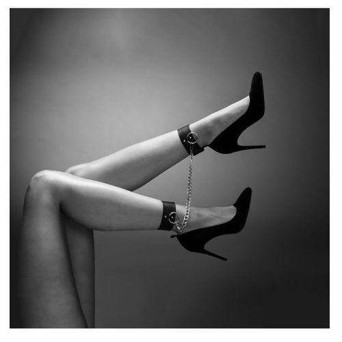 Kajdanki na nogi - Bijoux Indiscrets Maze Ankle & Knee Cuffs Black, BU083B (8474210)
