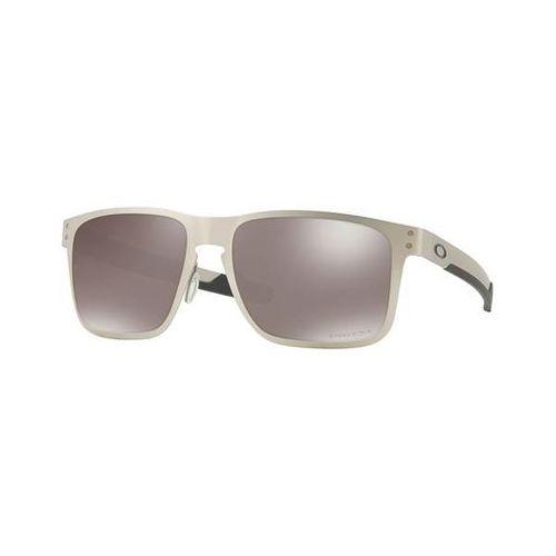 Okulary Słoneczne Oakley OO4123 HOLBROOK METAL Polarized 412309, kolor żółty
