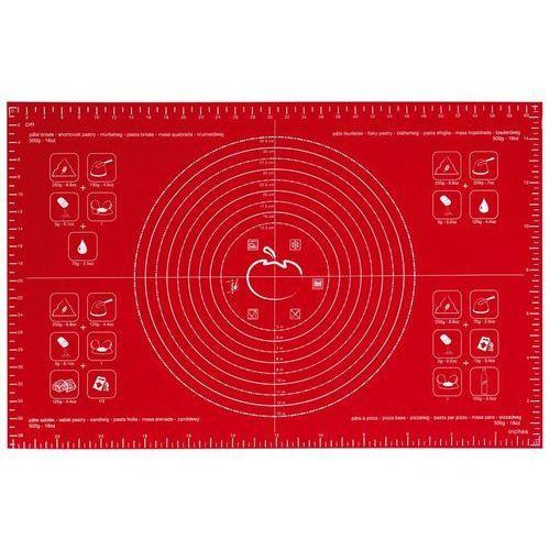 - stolnica silikonowa (40 x 60 cm) - czerwona marki Mastrad
